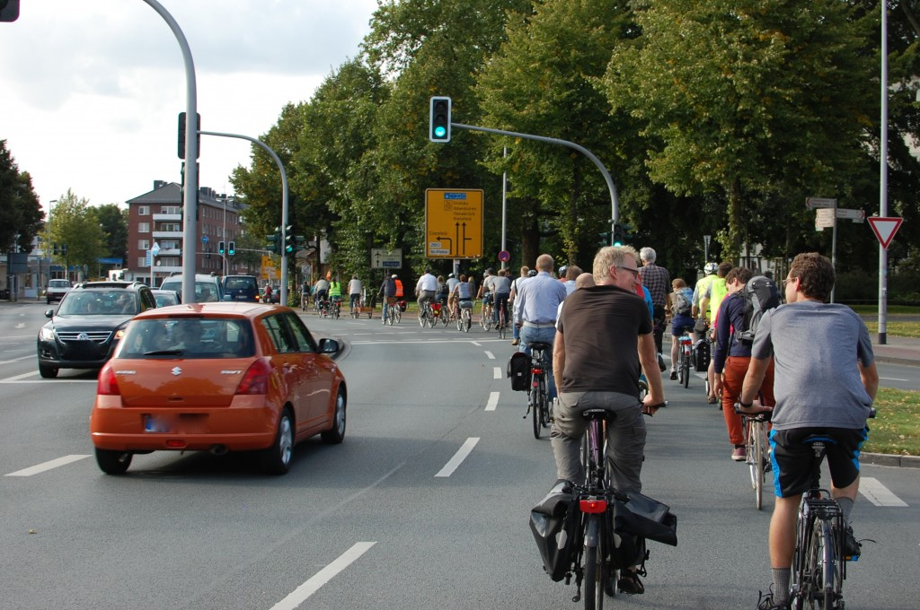 Critical Mass in Münster